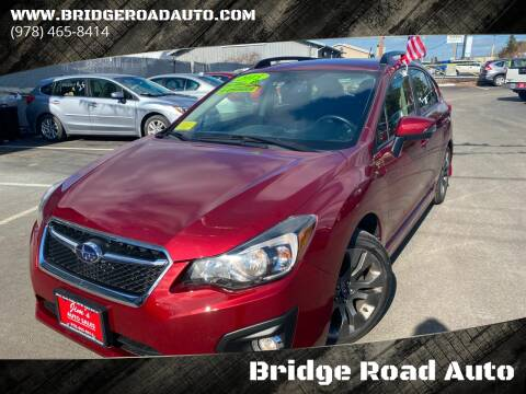 2015 Subaru Impreza for sale at Bridge Road Auto in Salisbury MA