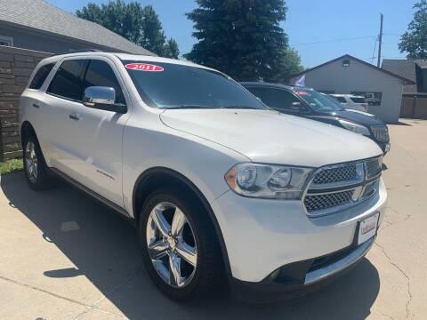 2011 Dodge Durango for sale at Triangle Auto Sales 2 in Omaha NE