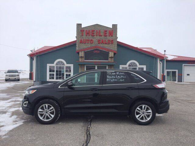 2015 Ford Edge for sale at THEILEN AUTO SALES in Clear Lake IA