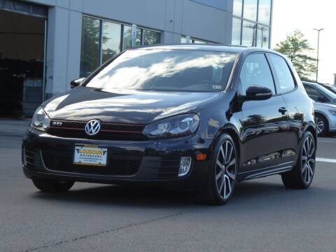 2012 Volkswagen GTI for sale at Loudoun Used Cars - LOUDOUN MOTOR CARS in Chantilly VA