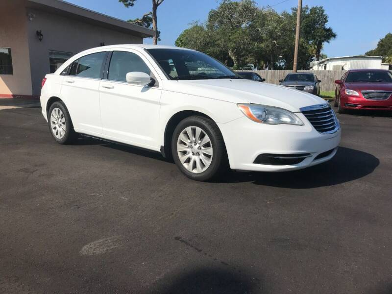 2012 Chrysler 200 for sale at AutoVenture in Holly Hill FL