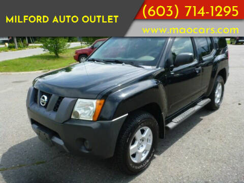 2007 Nissan Xterra for sale at Milford Auto Outlet in Milford NH