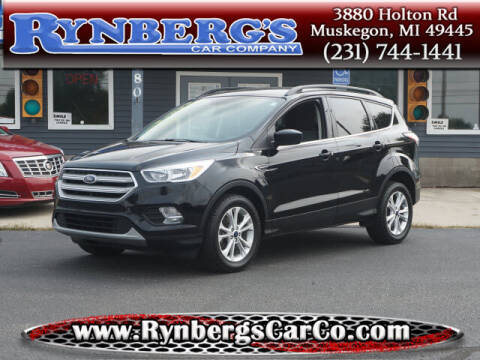 2018 Ford Escape for sale at Rynbergs Car Co in Muskegon MI