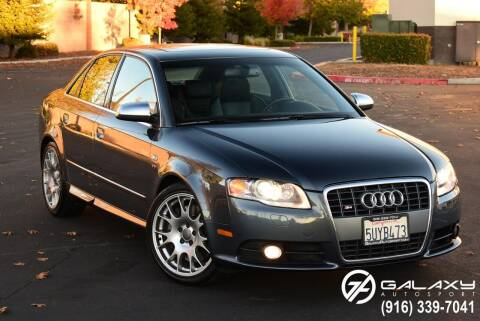2006 Audi S4 for sale at Galaxy Autosport in Sacramento CA