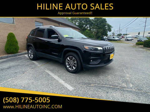 2019 Jeep Cherokee for sale at HILINE AUTO SALES in Hyannis MA