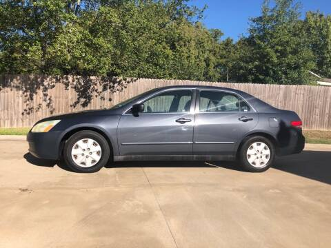 2004 Honda Accord for sale at H3 Auto Group in Huntsville TX