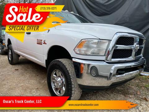2014 RAM Ram Pickup 2500 for sale at Oscar's Truck Center, LLC in Houston TX