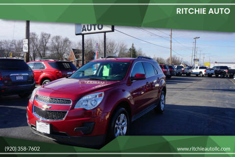 2013 Chevrolet Equinox for sale at Ritchie Auto in Appleton WI