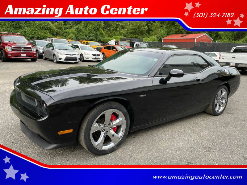 2009 Dodge Challenger for sale at Amazing Auto Center in Capitol Heights MD