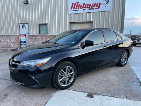 2017 Toyota Camry for sale at Midway Motors in Conway AR