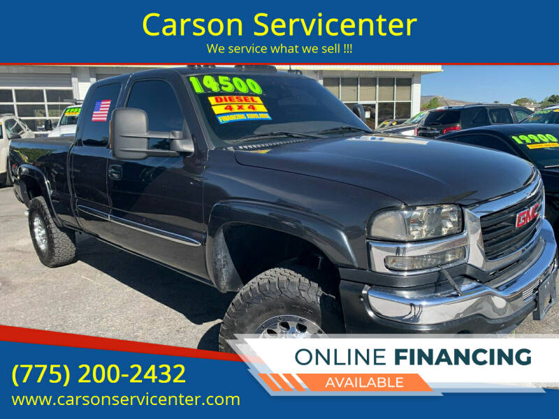 2003 GMC Sierra 2500HD for sale at Carson Servicenter in Carson City NV