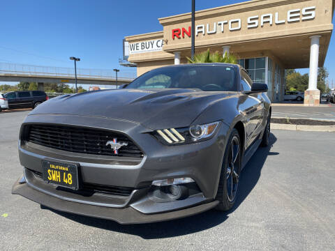 2017 Ford Mustang for sale at RN Auto Sales Inc in Sacramento CA