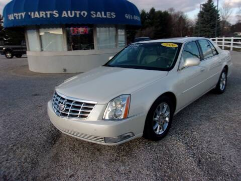 2010 Cadillac DTS for sale at Marty Hart's Auto Sales in Sturgis MI