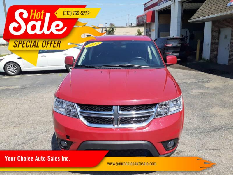 2018 Dodge Journey for sale in Dearborn, MI