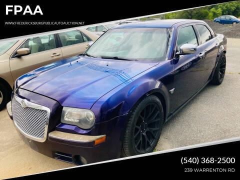 2007 Chrysler 300 for sale at FPAA in Fredericksburg VA