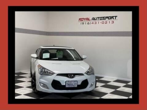 2012 Hyundai Veloster for sale at Royal AutoSport in Sacramento CA
