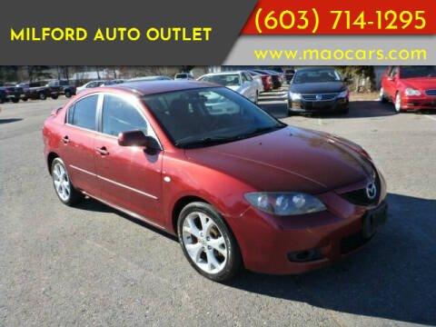 2008 Mazda MAZDA3 for sale at Milford Auto Outlet in Milford NH