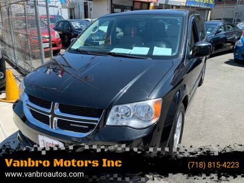 2012 Dodge Grand Caravan for sale at Vanbro Motors Inc in Staten Island NY