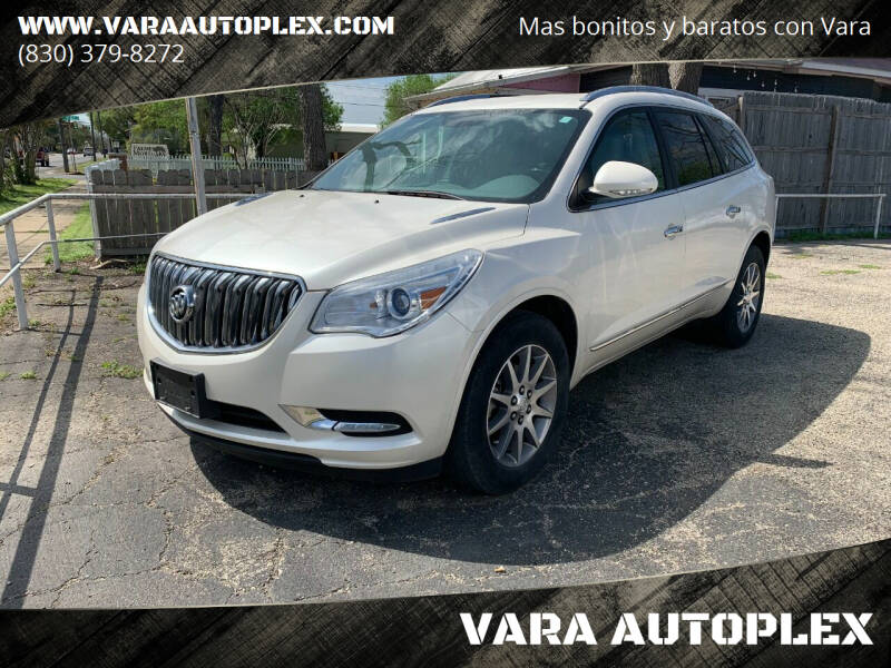 2015 Buick Enclave for sale at VARA AUTOPLEX in Seguin TX