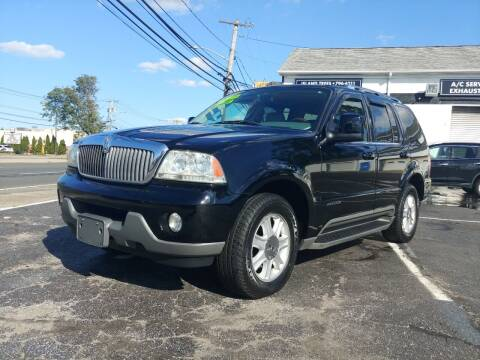 2003 Lincoln Aviator for sale at Viking Auto Group in Bethpage NY