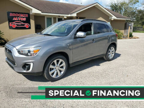 2015 Mitsubishi Outlander Sport for sale at Brocker Autos in Humble TX