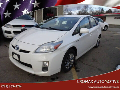 2011 Toyota Prius for sale at Cromax Automotive in Ann Arbor MI
