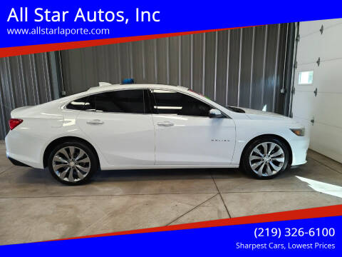2017 Chevrolet Malibu for sale at All Star Autos, Inc in La Porte IN