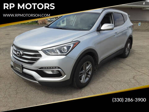 2018 Hyundai Santa Fe Sport for sale at RP MOTORS in Canfield OH