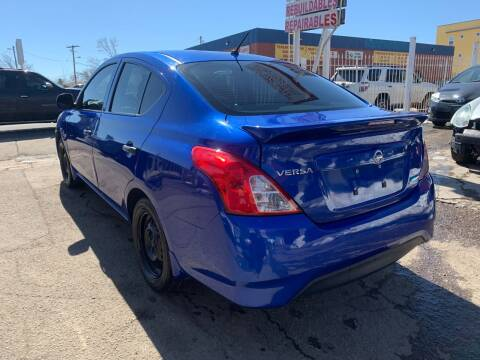 2015 Nissan Versa for sale at STS Automotive in Denver CO