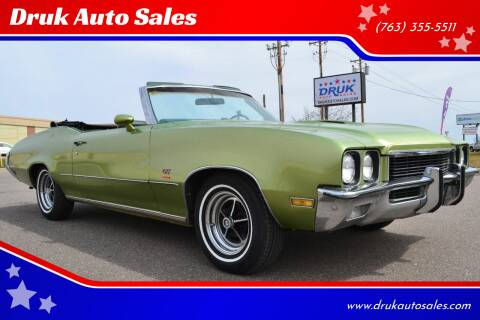 1972 Buick Gran Sport for sale at Druk Auto Sales in Ramsey MN