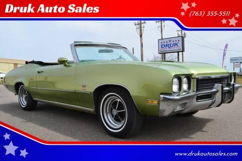 1972 Buick Gran Sport for sale at Druk Auto Sales in Ramsey MN