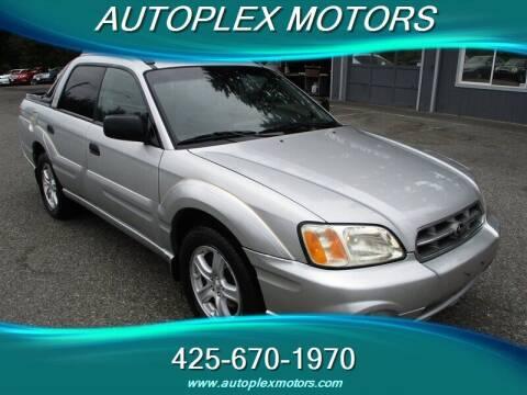 2006 Subaru Baja for sale at Autoplex Motors in Lynnwood WA