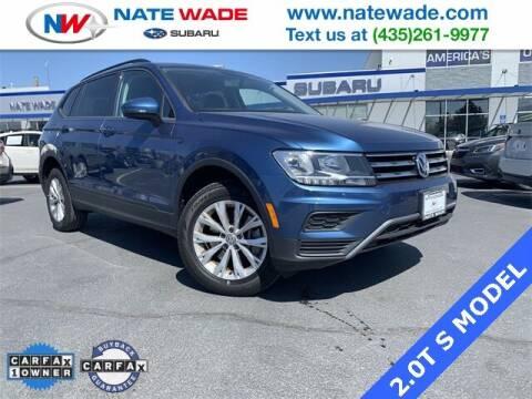 2018 Volkswagen Tiguan for sale at NATE WADE SUBARU in Salt Lake City UT