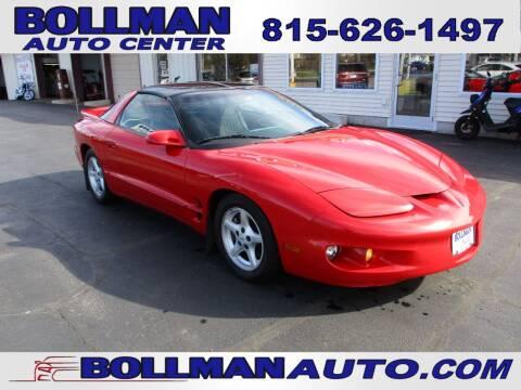 1998 Pontiac Firebird for sale at Bollman Auto Center in Rock Falls IL