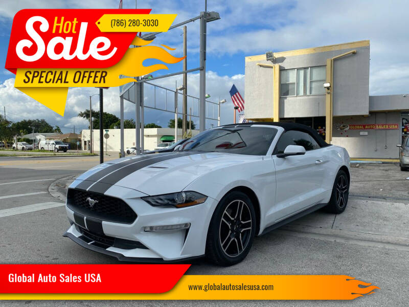 2020 Ford Mustang for sale at Global Auto Sales USA in Miami FL