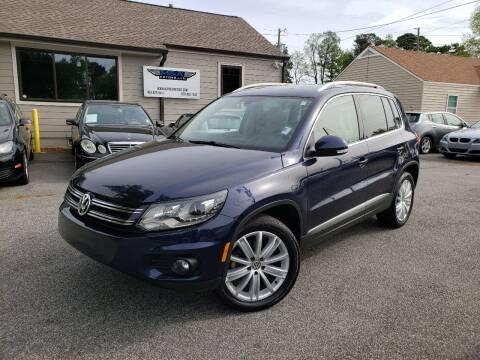 2016 Volkswagen Tiguan for sale at M & A Motors LLC in Marietta GA