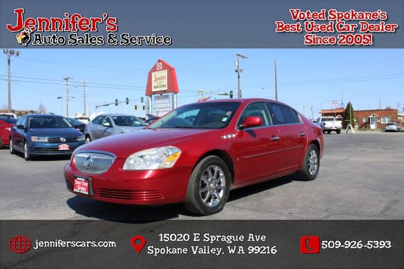 2008 Buick Lucerne for sale at Jennifer's Auto Sales in Spokane Valley WA