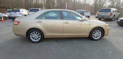 2010 Toyota Camry for sale at Buddy's Auto Inc in Pendleton SC