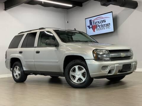 2006 Chevrolet TrailBlazer for sale at Texas Prime Motors in Houston TX