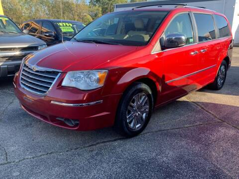 2008 Chrysler Town and Country for sale at HIGHLINE AUTO LLC in Kenosha WI