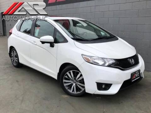 2015 Honda Fit for sale at Auto Republic Fullerton in Fullerton CA