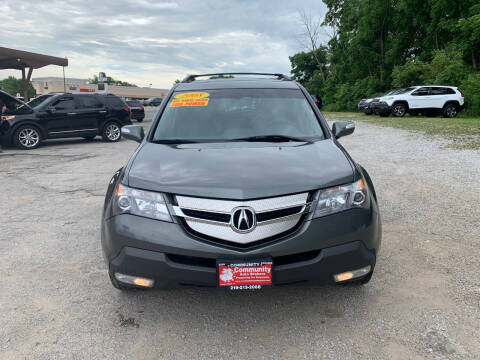 2008 Acura MDX for sale at Community Auto Brokers in Crown Point IN