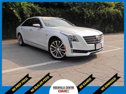 2018 Cadillac CT6 for sale at Rockville Centre GMC in Rockville Centre NY