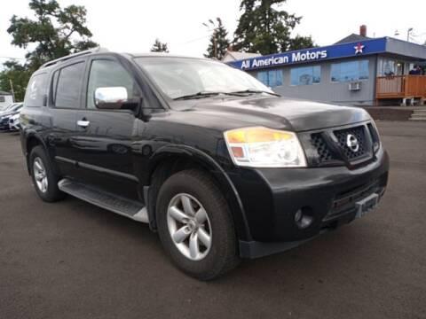 2010 Nissan Armada for sale at All American Motors in Tacoma WA