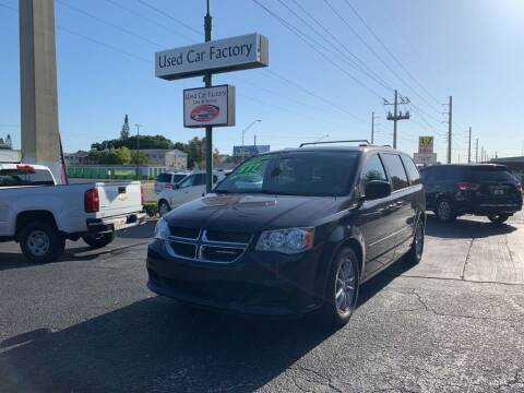 2016 Dodge Grand Caravan for sale at Used Car Factory Sales & Service in Bradenton FL