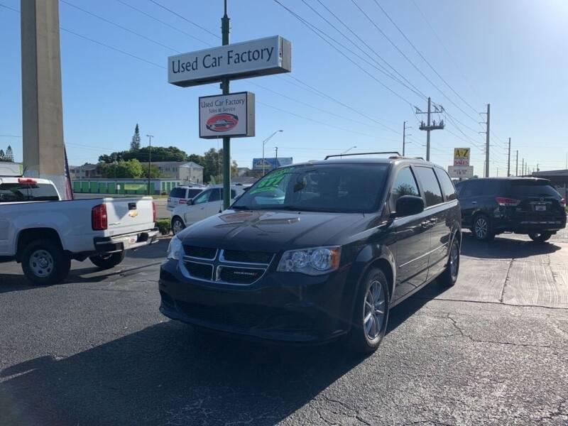 2016 Dodge Grand Caravan for sale at Used Car Factory Sales & Service in Bradenton FL