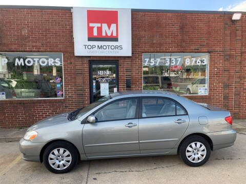 2004 Toyota Corolla for sale at Top Motors LLC in Portsmouth VA
