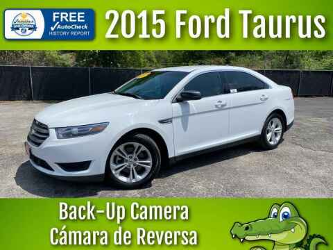 2015 Ford Taurus for sale at LIQUIDATORS in Houston TX