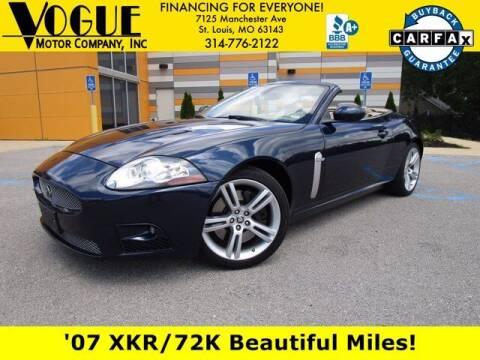 2007 Jaguar XK-Series for sale at Vogue Motor Company Inc in Saint Louis MO