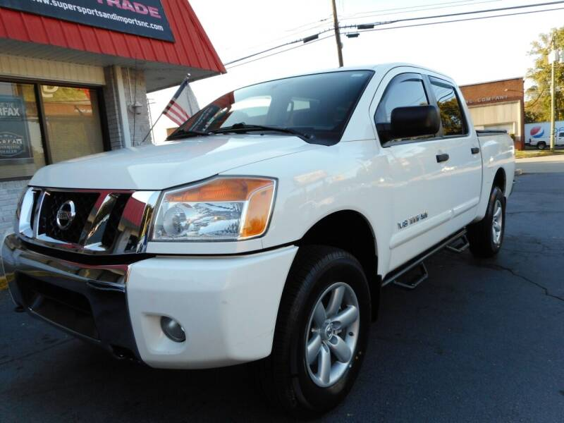 2010 Nissan Titan for sale at Super Sports & Imports in Jonesville NC